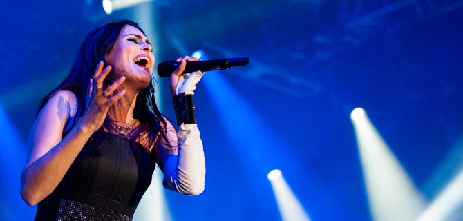 Within Temptation si podmanili Incheba Arenu