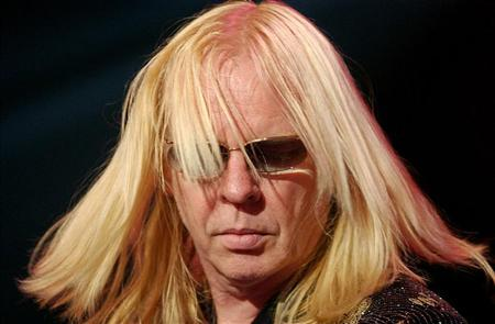 RICK WAKEMAN, KEYBOARDER OF BRITISH ROCK GROUP YES PERFORMS AT MONTREUX JAZZ FESTIVAL.
