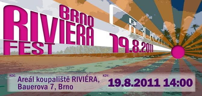 Brno Riviera Fest 2011 – Brněnská Riviéra znovu ožije