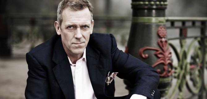Hugh Laurie v červenci poprvé zahraje vPraze!