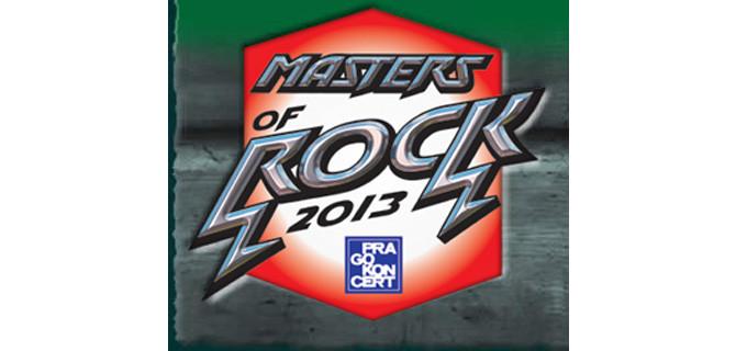 Alfedus Music Stage zná další účinkující Masters of Rock 2013
