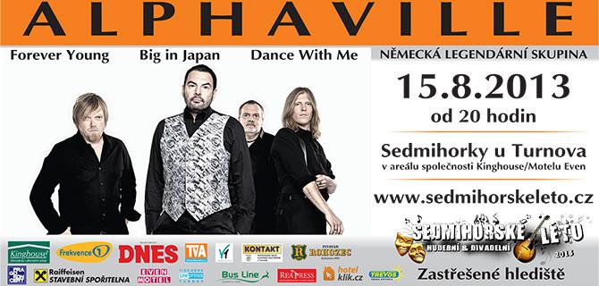 V rámci festivalu Sedmihorské léto vystoupí legendární kapela Alphaville
