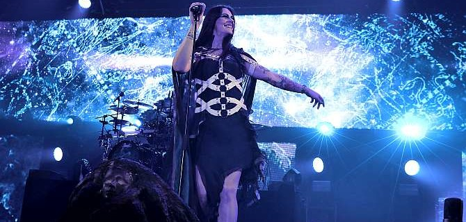 Nightwish a spol rozduněli Tipsport arénu